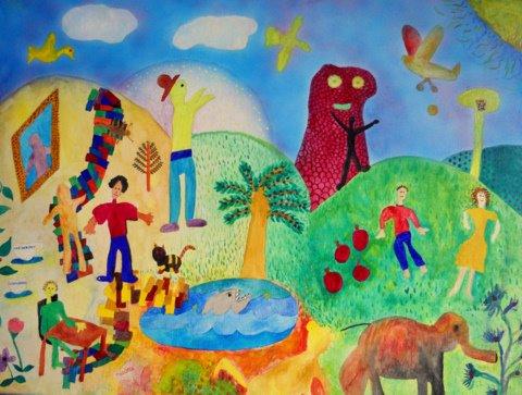 In My Garden of Eden by Irene Smith