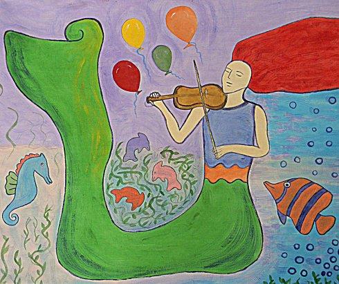 Best Fiddler in the Ocean by Irene M. Smith